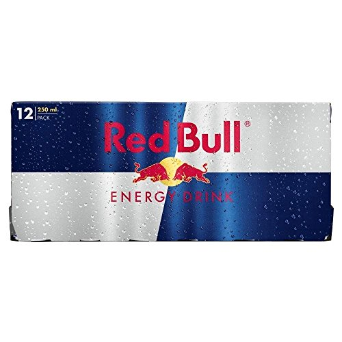 Red Bull Energy Drink (12x250ml) - Packung mit 2 von Red Bull