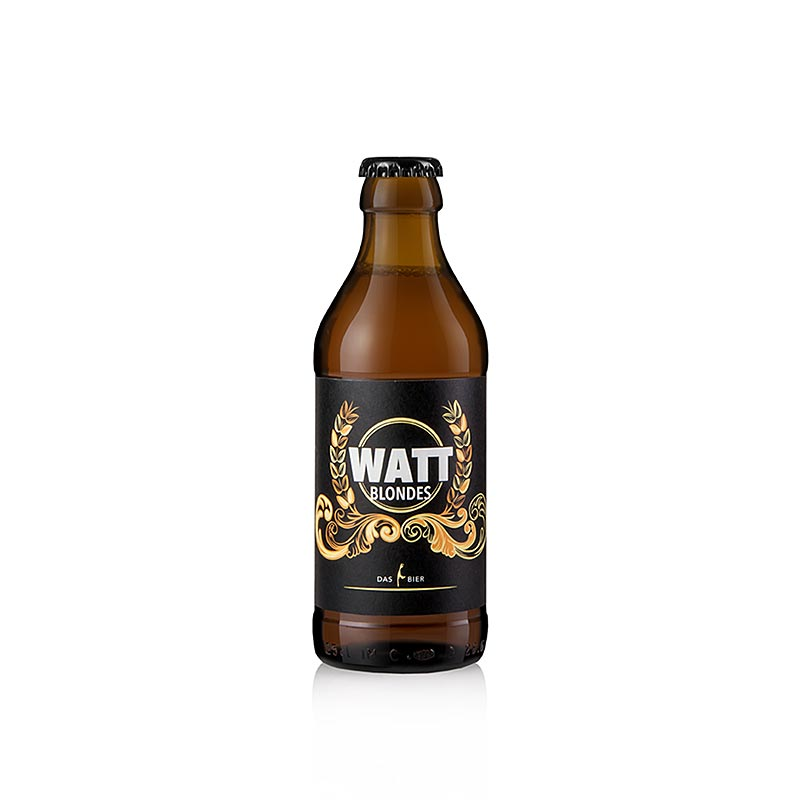 WATT Blondes, Sylter Bier, 4,9% vol., 250 ml