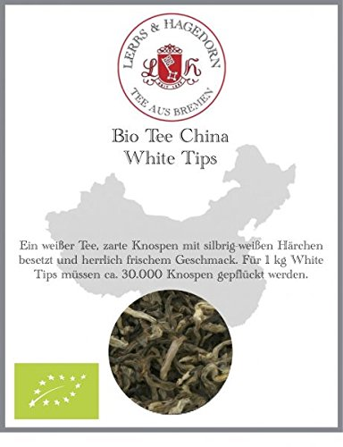 Bio Tee China White Tips 1kg von Lerbs & Hagedorn