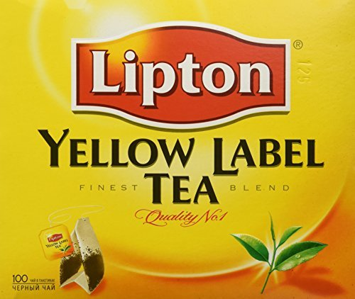 Lipton Yellow Label Tea Bags 100ct (Pack of 4) by Yellow Label von Lipton