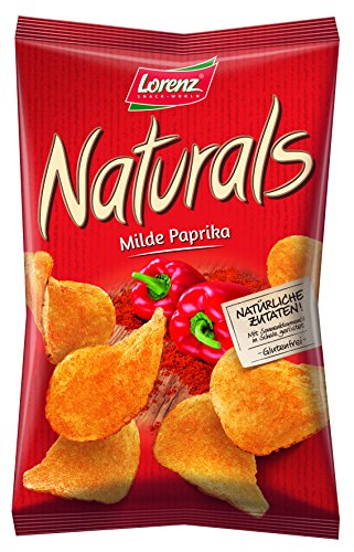 Lorenz Snack World Naturals Milder Paprika, 12er Pack (12 x 95 g) von Lorenz Snack World