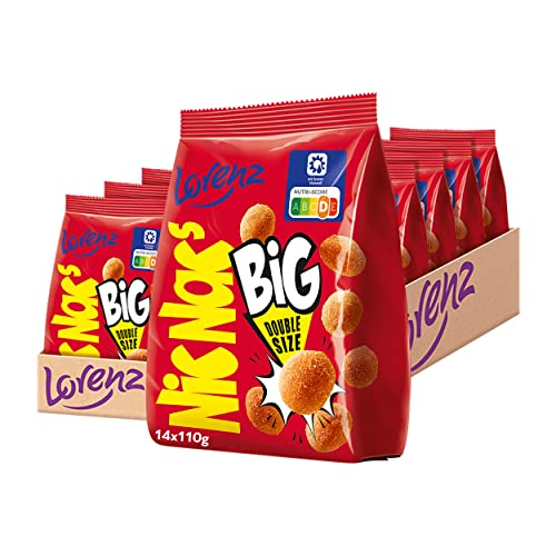 Lorenz Snack World NicNac's Original BIG, 14er Pack (14 x 110 g) von Lorenz Snack World