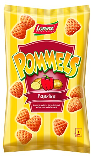 Lorenz Snack World Pommels Paprika, 6er Pack (6 x 75 g) von Lorenz Snack World