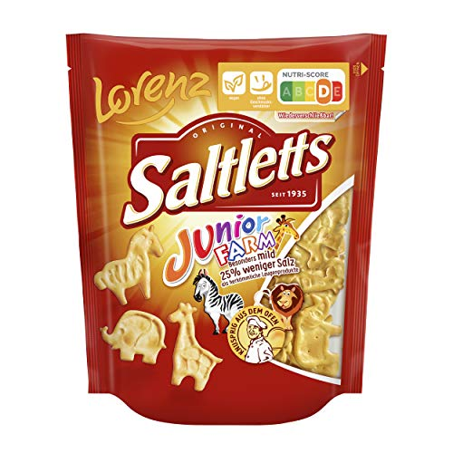 Lorenz Snack World Saltletts Junior Farm, 12er Pack (12 x 150 g) von Lorenz Snack World