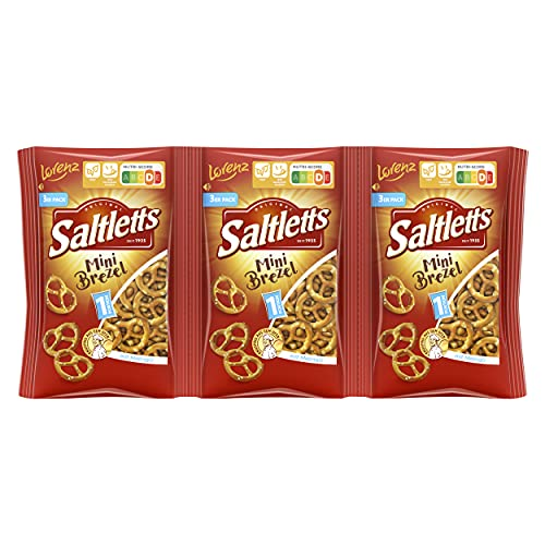 Lorenz Snack World Saltletts Mini Brezel, 9er Pack (9 x 120 g) von Lorenz Snack World