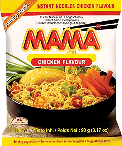 Mama Instant Nudeln Huhn Jumbo 90g, 1er Pack (1 x 90 g) von MAMA