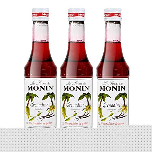 Monin Sirup Grenadine, 0,25L, 3er Pack von MONIN