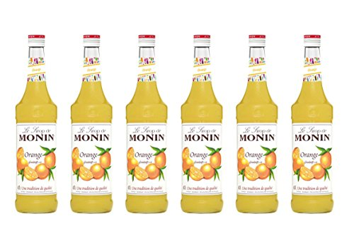 Monin Sirup Orange, 0,7L 6er Pack von MONIN