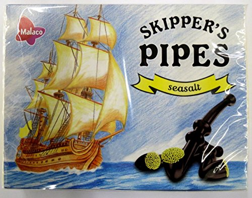 10 x MALACO SKIPPER PIPES SEASALT 20er von Malaco