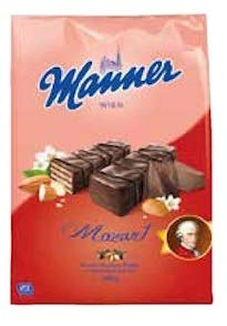 Manner (Mozart/Mandel-Haselnuss) von Manner