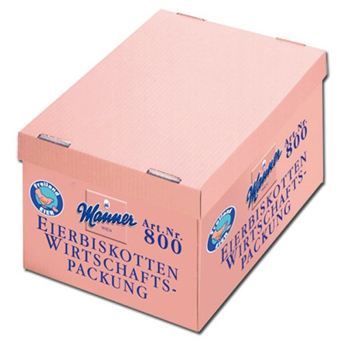 Manner Biskotten 2400g, 1er Pack (1 x 2.4 kg) von Manner