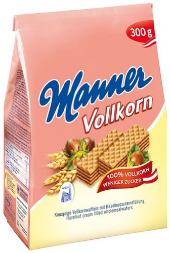 Manner Original Neapolitaner Schnitten Vollkorn - 300gr - 4x von Manner