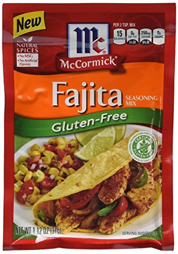 McCormick Seasoning Mix, Fajitas, 1.12 Ounce (Pack of 12) by McCormick von McCormick