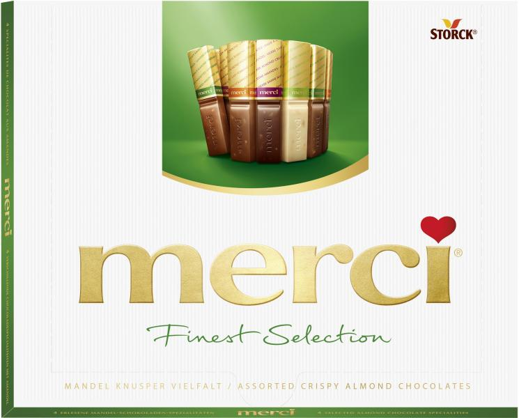 Merci Finest Selection Mandel Knusper Vielfalt von Merci