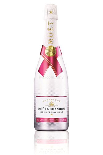 Moet Ice Imperial Rose 75cl (12% Vol) -[Enthält Sulfite] von Moet & Chandon
