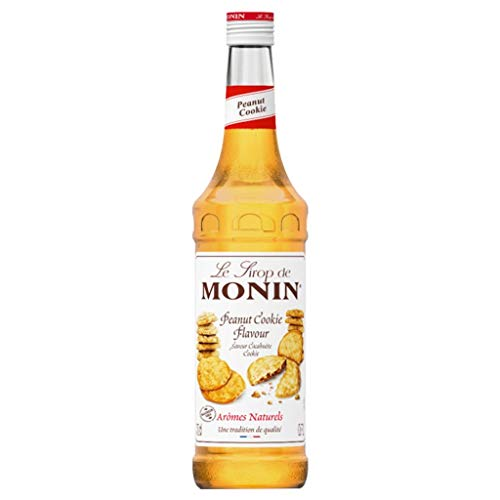 Monin Sirup Peanut Cookie, 0,7L, 1er Pack von MONIN