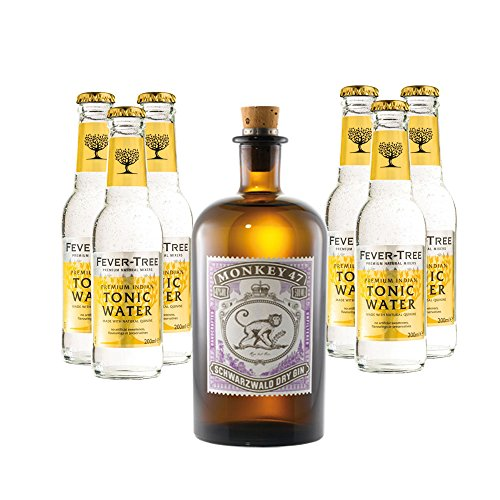 Monkey 47 & 6 Flaschen Fever-Tree Tonic Set inc. 0.90€ MEHRWEG Pfand von Monkey 47
