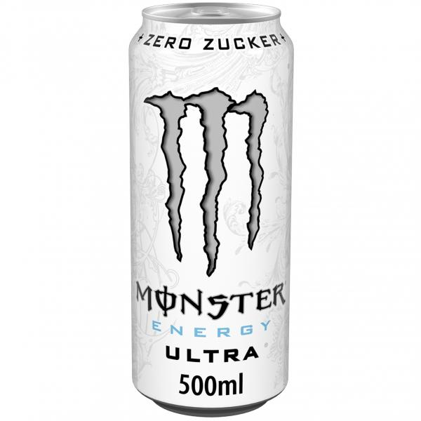 Monster Energy Ultra White (Einweg) von Monster