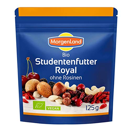 MorgenLand - Studentenfutter Royal ohne Rosinen - 125 g - 9er Pack von Morgenland