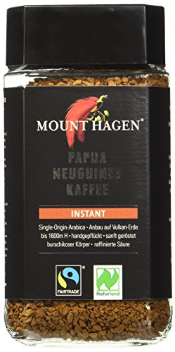 Mount Hagen Instant Fair Trade, 6er Pack (6 x 100 g) - Bio von Mount Hagen