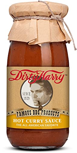 Münchner Kindl Senf Bio Dirty Harry Hot Curry Sauce BIOLAND (6 x 250 ml) von Münchner-Kindl-Senf