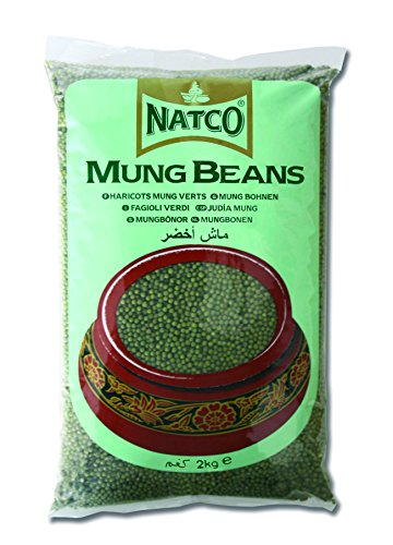 Natco Green Whole Moong Beans 2 Kg von Natco