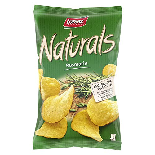 Lorenz Snack World Naturals Rosmarin, 12er Pack (12 x 95 g) von Lorenz Snack World