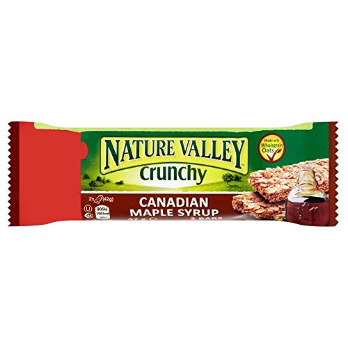 Nature Valley Ahorn Sirup Riegel - 42g - 12-er Pack von Nature Valley