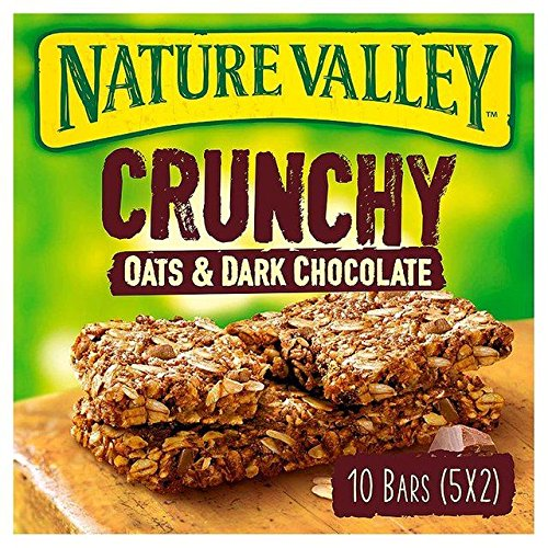 Nature Valley Crunchy Oats & Dark Chocolate Cereal Bars 5 x 42g von Nature Valley