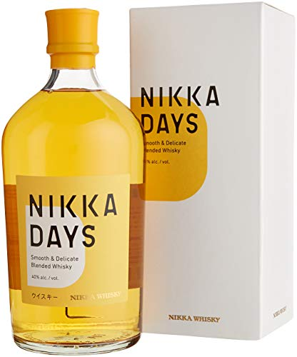 NIKKA DAYS - smooth and delicated Blended Whisky (1 x 0.7 l) von Nikka