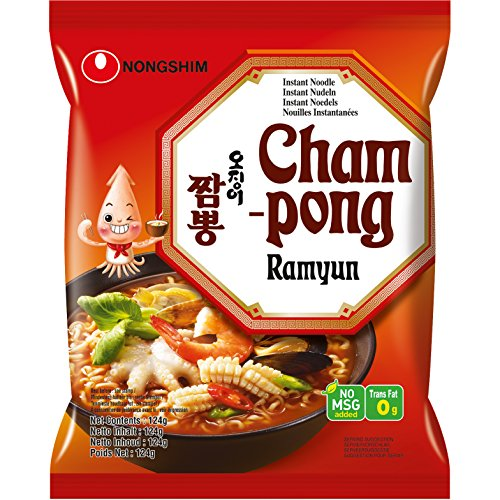 NONGSHIM Instant Nudelsuppe Champong, 124 g von Nong Shim