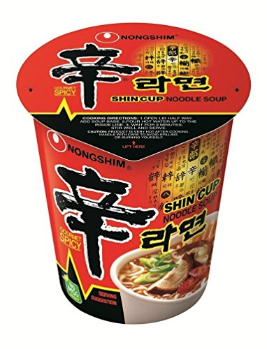 NONG SHIM Shin Ramyun Instant Cup Nudel 12 Packs von Nong Shim