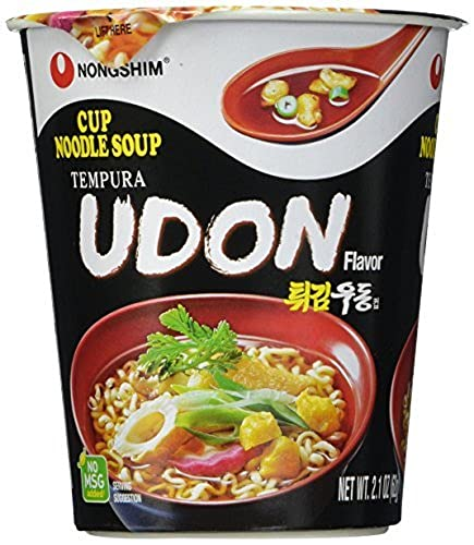 NONGSHIM Instant Cup Nudeln Udon, 12 x 62 g von Nong Shim