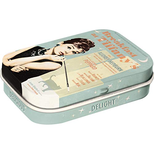 Nostalgic-Art 81247 Breakfast at Tiffany's Blue, Pillendose von Nostalgic-Art