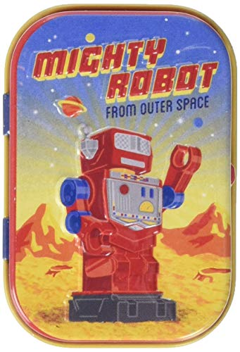 Nostalgic-Art 81319 Retro Wave - Mighty Robot, Pillendose von Nostalgic-Art