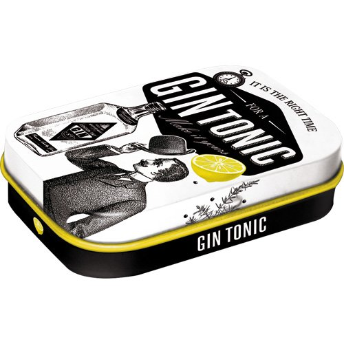 Nostalgic-Art 81346 Open Bar - Gin Tonic, Pillendose von Nostalgic-Art