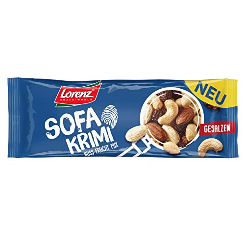 Lorenz Snack World Sofa Krimi, 28er Pack (28 x 40 g) von Lorenz Snack World