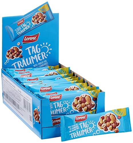 Lorenz Snack World Tagträumer, 28er Pack (28 x 40g) von Lorenz Snack World
