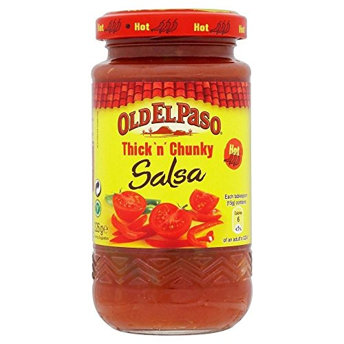 Old El Paso Thick 'n' Chunky Hot Salsa (226g) - Packung mit 2 von Old El Paso
