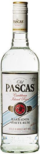 Old Pascas Barbados Rum White, 1er Pack (1 x 700 ml) von Old Pascas