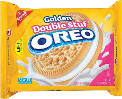 Oreo Golden Double Stuf Sandwich Cookies, Original, 15.25-Ounce (Pack of 6) by Oreo von Oreo