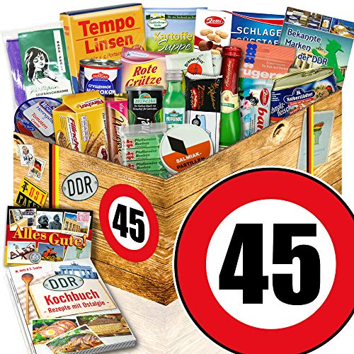 45 Geburtstag Mann Frau Lustig 45 Jahre 1975 Party Geschenk