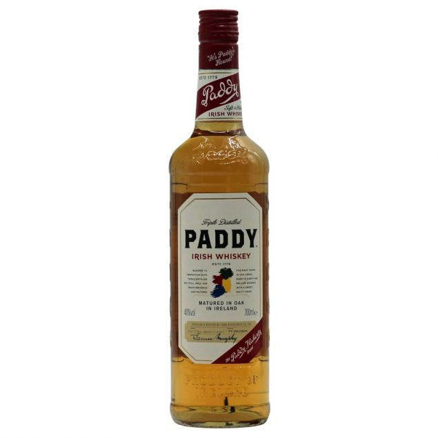 Paddy Old Irish Whiskey 0,7 L 40%vol von Paddy