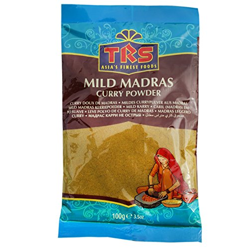 5x100g TRS Mildes Madras Curry Powder (Papa Vo ®) von Papa Vo