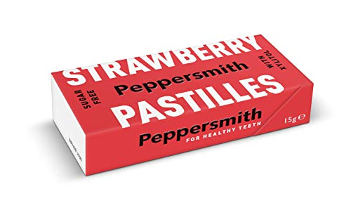 Peppersmith - DENTAL PASTILLES - Erdbeere von Peppersmith