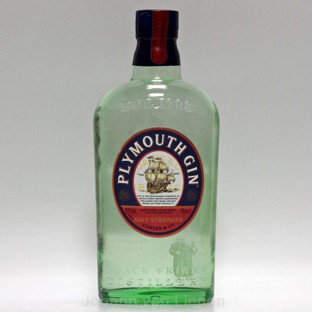 Plymouth Gin Navy Strength 0,7 L 57%vol von Plymouth
