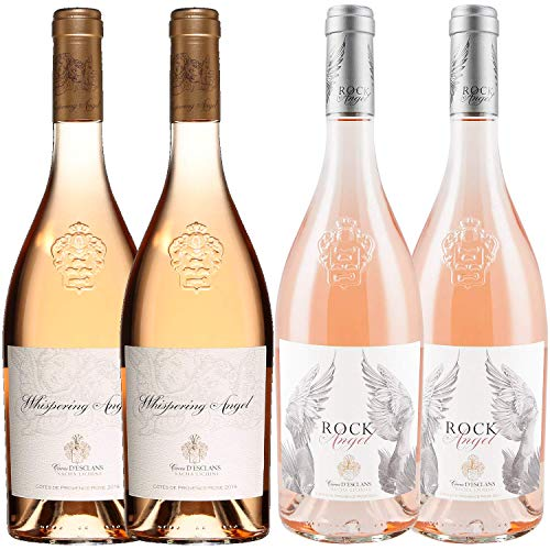 "Best of Provence - Esclan ""Whispering Engel"" x2 & ""Rock Engel"" x2 - Rosé Côtes de Provence 2019 75cl von ProvencePremiumRosé"