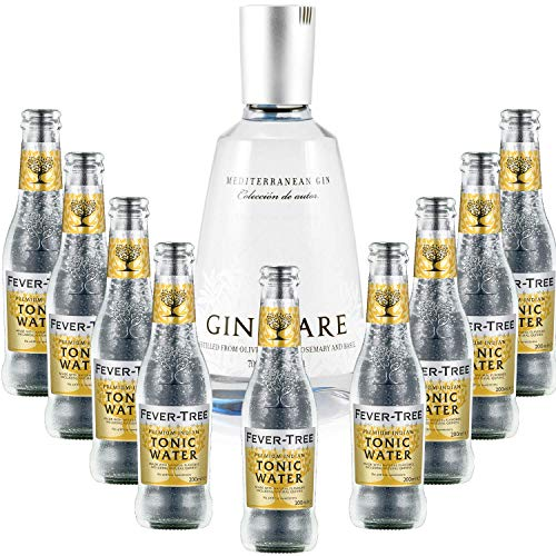 Gintonic - Gin Mare 42,7 ° + 9Fever Indian Tree Premium Water - (70cl + 9 * 20cl) von ProvencePremiumRosé