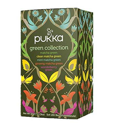 Green Collection PUKKA Tee BIO 4 Packungen à 20 Teebeutel von Pukka