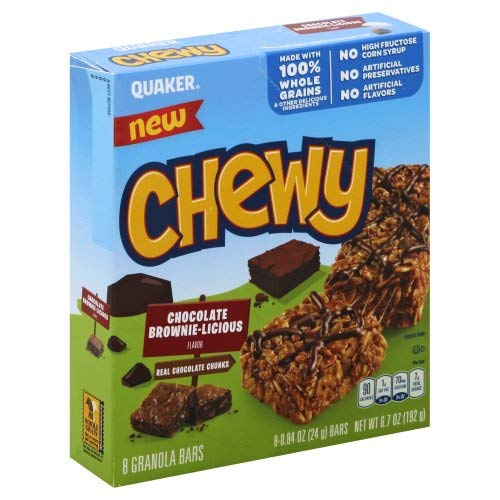 Chewy Chocolate Brownielicious Snack Bars - 8ct von Quaker
